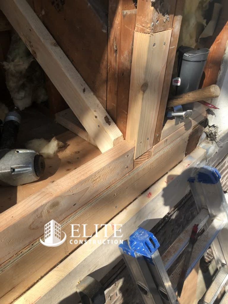 The Belly Band Trim And Exterior Trim Dry Rot Damage
