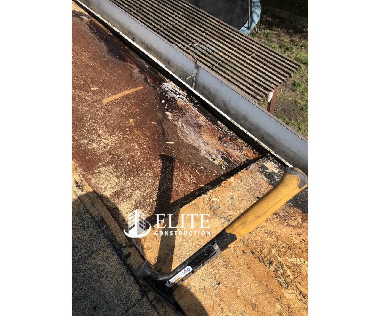 Roof covering and RSP-Plywood Roof Sheathing Dry Rot ...