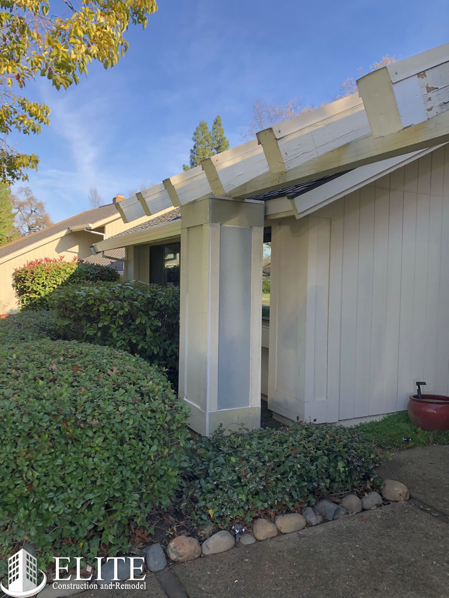 Wood Rot Replacement in Fair Oaks